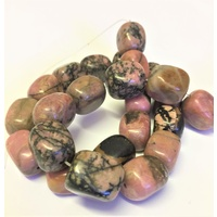 Gemstone Strand RHODONITE Medium
