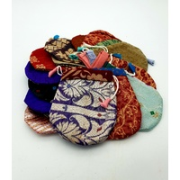 Indian Drawstring Pouch 11x9cm
