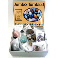 Jumbo Tumbled Stone DISPLAY SET