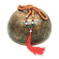 Mala Necklace BOHDI SEED with Gemstone
