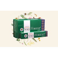 Vijayshree GOLDEN NAG FOREST 15g BOX of 12 Packets