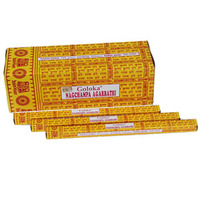 Goloka NAG CHAMPA 8 stick BOX of 25 Packets