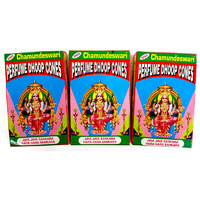 Sree Chamundeswari Dhoop Cones BOX of 12 Packets