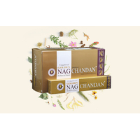 Vijayshree GOLDEN NAG CHANDAN 15g BOX of 12 Packets