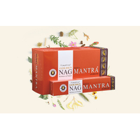 Vijayshree GOLDEN NAG MANTRA 15g BOX of 12 Packets