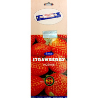Satya STRAWBERRY 10g BOX of 25 Packets