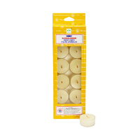 Satya Tealight Candle SANDALWOOD 14g BOX of 12