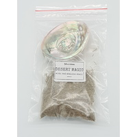 Smudge Bag DESERT MAGIC Sage & Abalone Shell Small