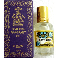 Song of India Perfume Oil LAVENDER 10ml - Old Style Packaging