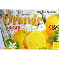 Satya Soap ORANGE 75g BOX of 12 packets
