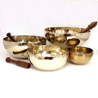 Tibetan Singing Bowl with stick 2200g-2299g