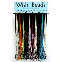Wish Bead Wristband DISPLAY STAND w 150 Wristbands