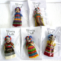 Worry Doll LARGE Pack of 5